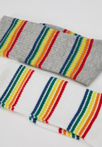 Urban Classics - RAINBOW   2 PACK - Socks - grey/white - 2