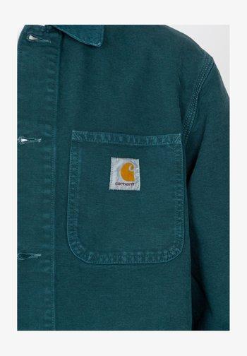 MICHIGAN - Summer jacket - deep lagoon worn canvas