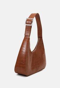 Monki - HAYDEN BAG - Håndveske - croco - 1