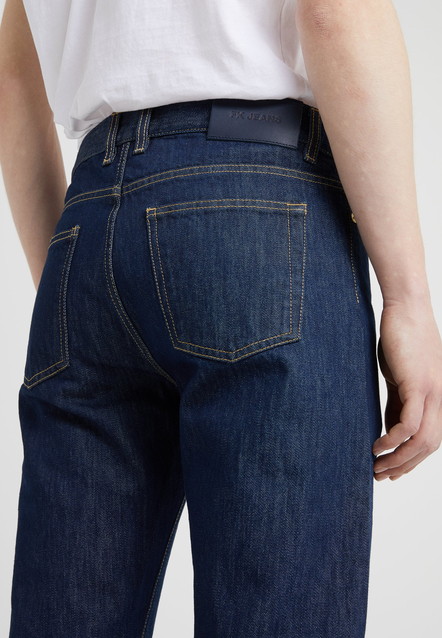 Filippa K BYRON RAW - Jean droit - dark blue
