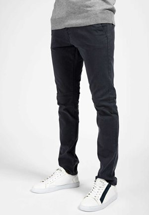 SKINNY IMPRIME ALL-OVER - Chino - blau multi