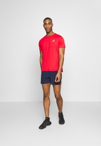 ASICS - SILVER SS - T-shirt basique - classic red - 1