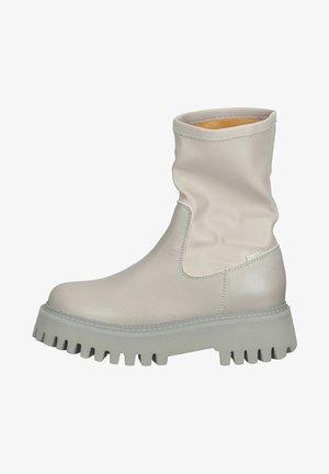 Høje støvler/ Støvler - military grey