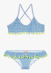 Sunuva - GIRLS FRILL  - Bikinier - blue - 0