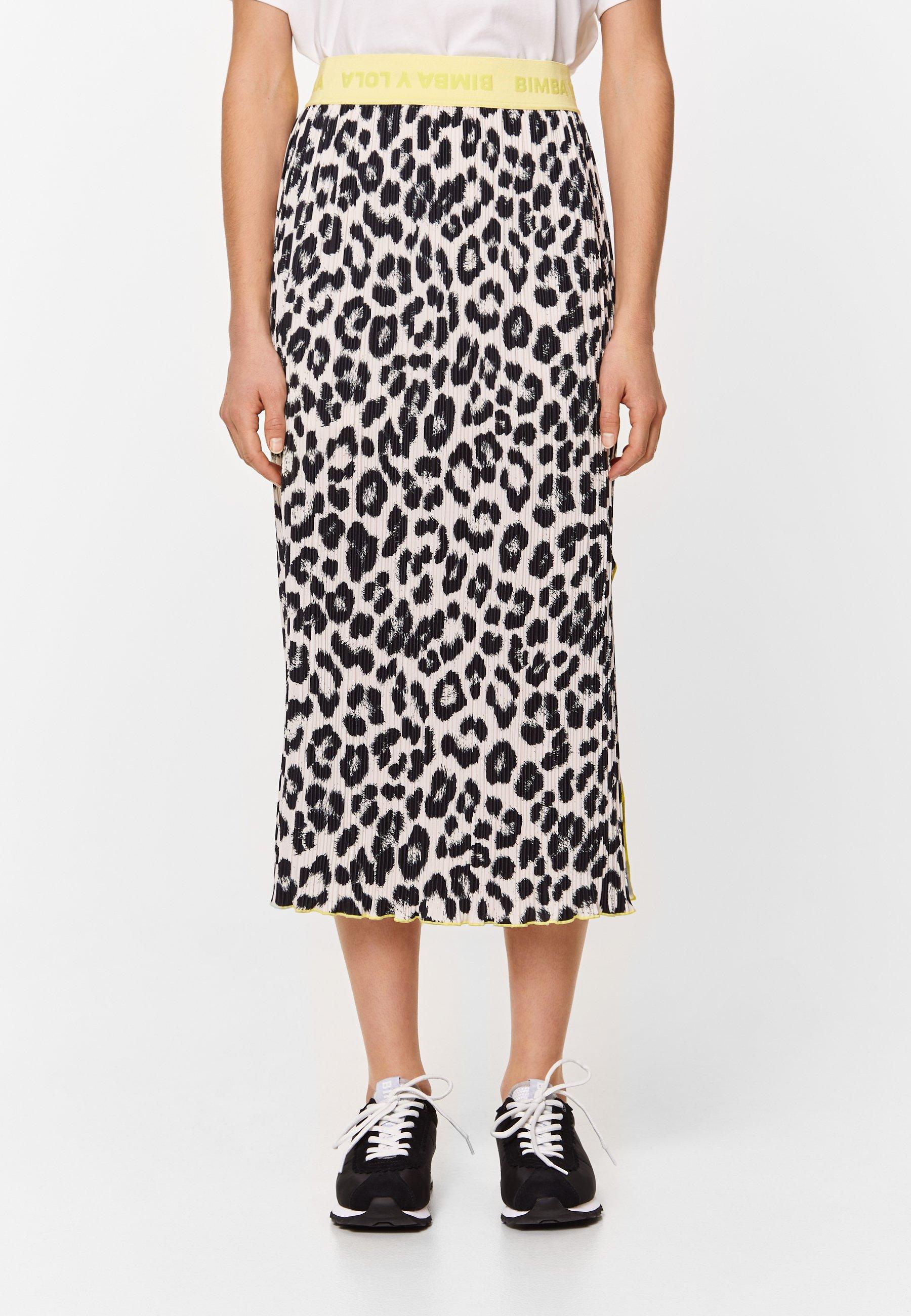 Femme WILD PRINT  - Jupe plissée