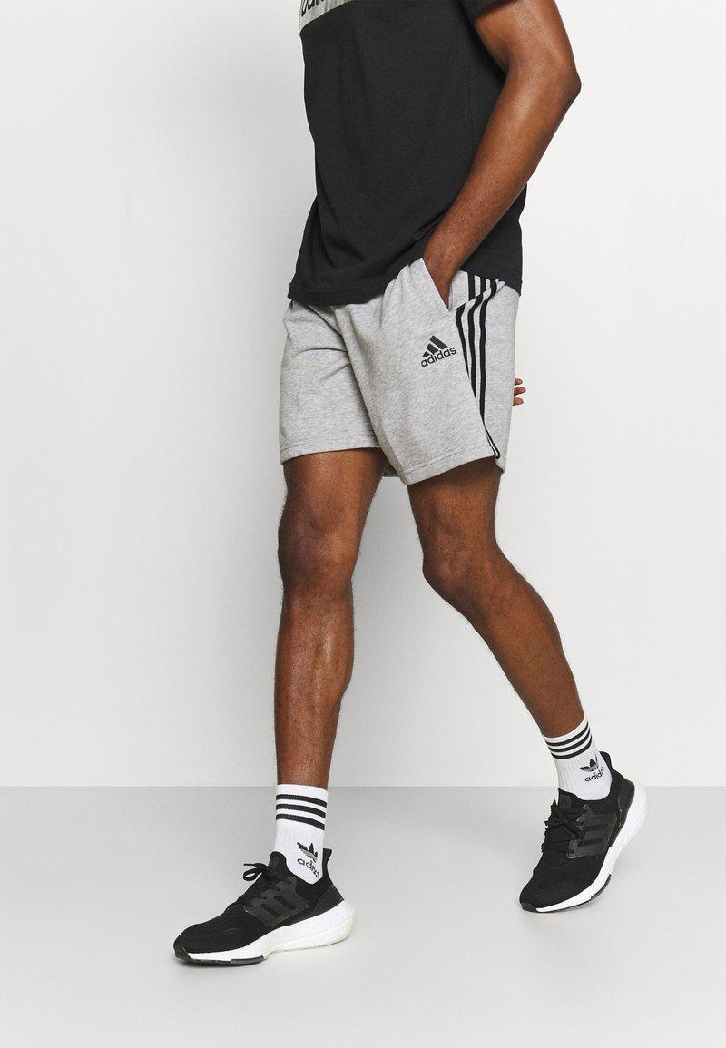 adidas Performance - Sports shorts - medium grey heather/black