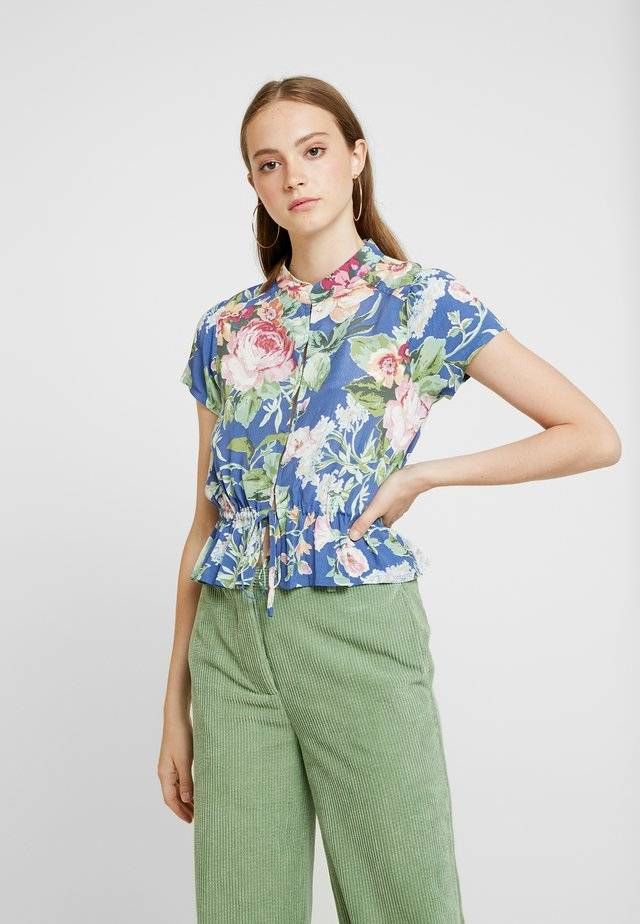 ELLA ROSE GARDEN BLOUSE - Button-down blouse - blue