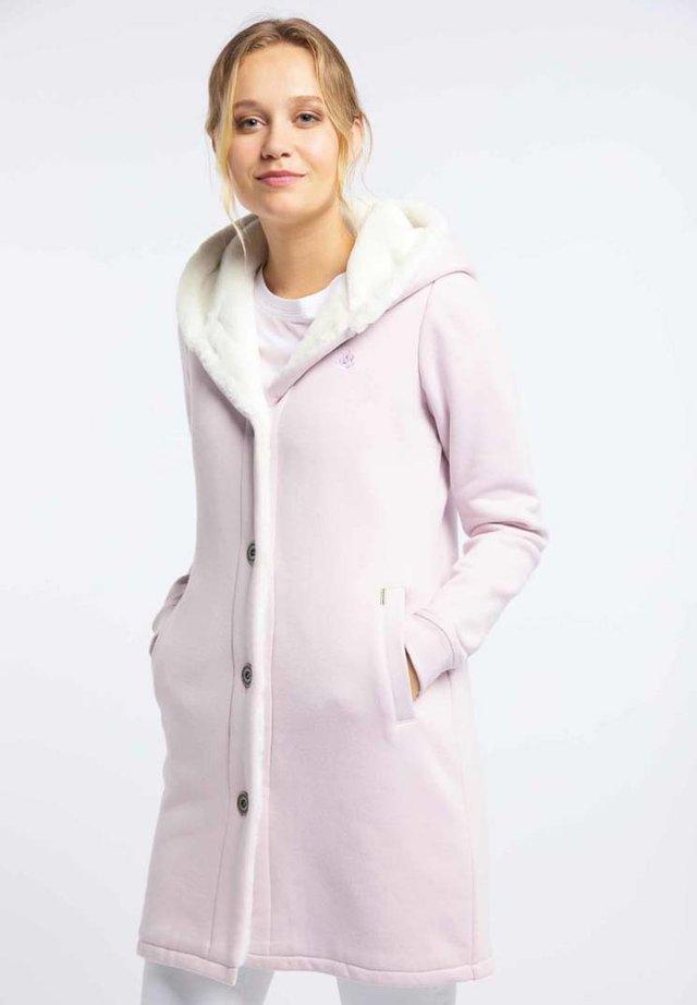 Kurzmantel - puder rosa