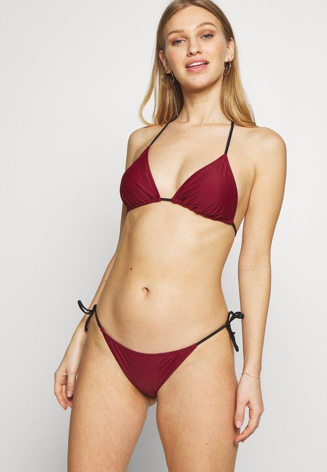 MARIE SET - Bikini - bordeaux