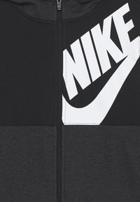 Nike Sportswear - HOODIE KIDS - veste en sweat zippée - black/white/black heather - 2