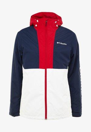 TIMBERTURNER JACKET - Snowboardjacke - white/collegiate navy