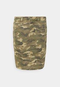 Cream - CRPENORA SKIRT - Pencil skirt - green camou - 3