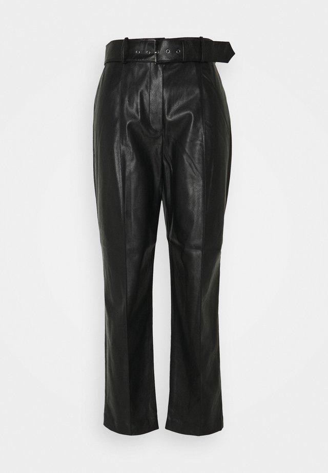 FAYDEL - Pantalon classique - black