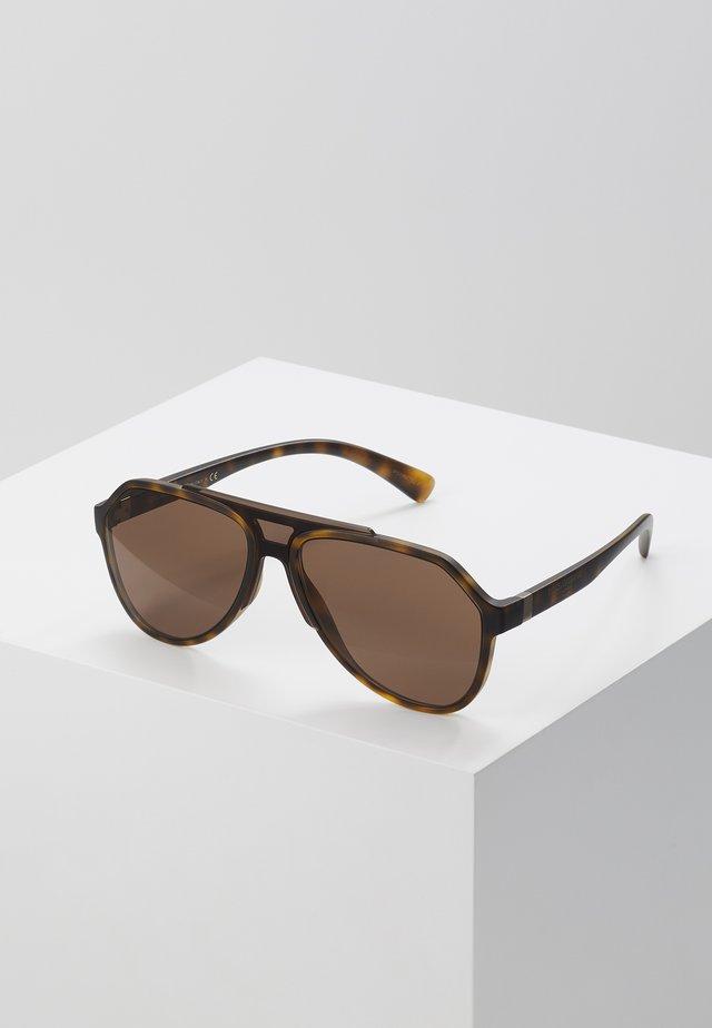 Solbriller - matte havana