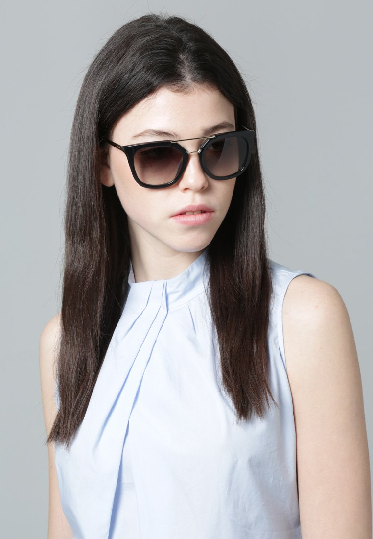 Prada - Sunglasses - black/gold