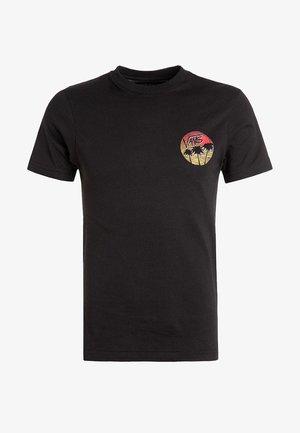 MN SANO  - Print T-shirt - black