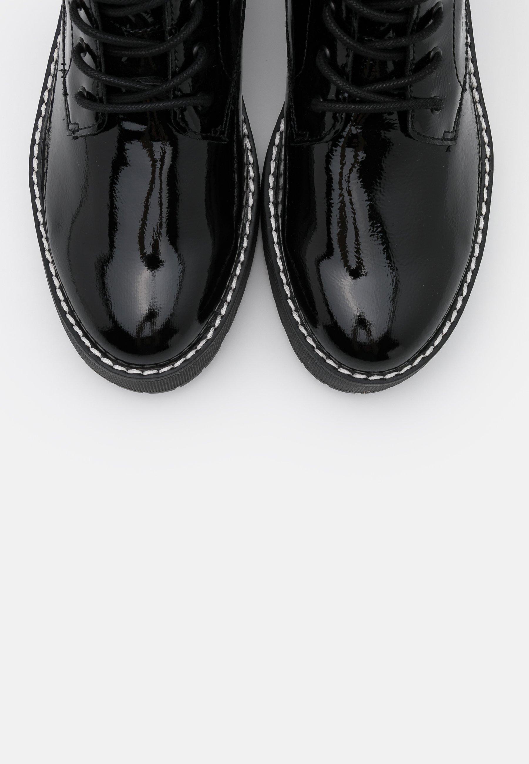 S.oliver Plateaustiefelette - Black/schwarz