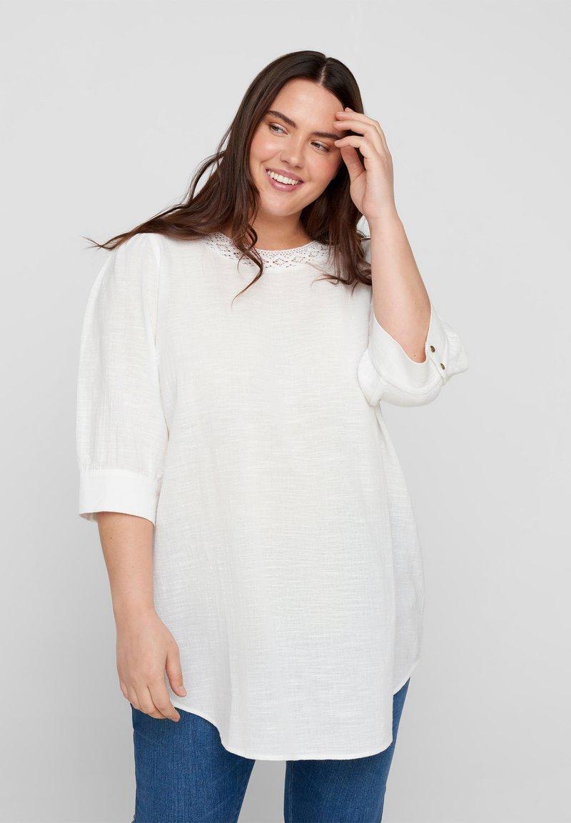 Zizzi - Tunic - bright white