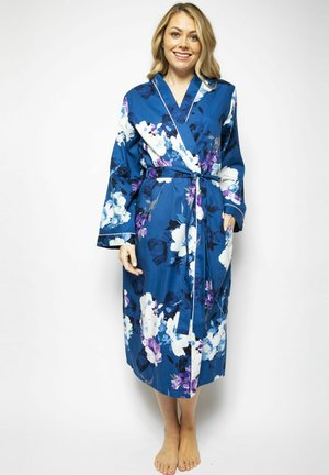Dressing gown - blue floral