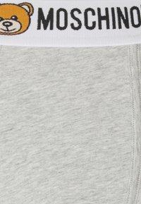 Moschino Underwear - TRUNK 2 PACK - Underbukse - gray melange - 4