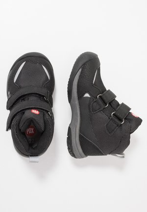 UNISEX - Hiking shoes - black