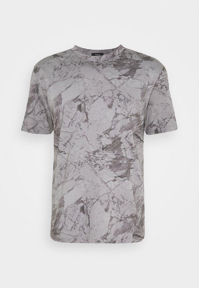 RACER TEE  - T-shirt con stampa - smoke