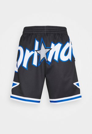 NBA ORLANDO MAGIC BIG FACE BLOWN OUT FASHION SHORT - Klubbkläder - black