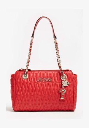 BRINKLEY GESTEPPT - Handbag - rot