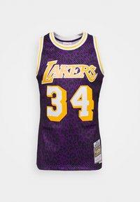 NBA LOS ANGELES LAKERS SHAQUILLE O'NEAL WILD LIFE SWINGMAN - Club wear - purple