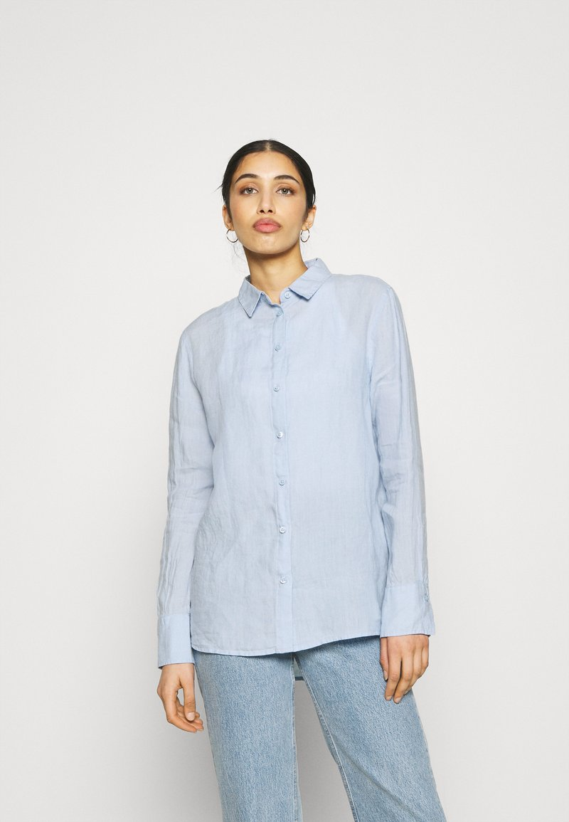Gina Tricot - KIMBERLY SHIRT - Skjorta - kentucky blue