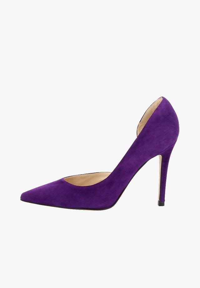 ALINA - Højhælede pumps - purple