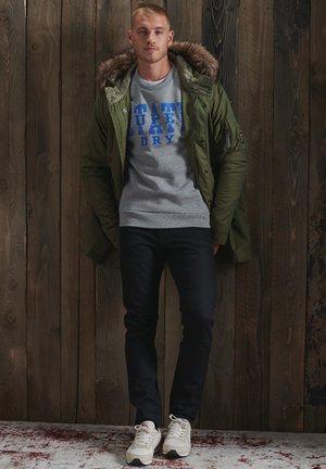 TRACK & FIELD CLASSIC CREW - Sweatshirt - soft grey marl