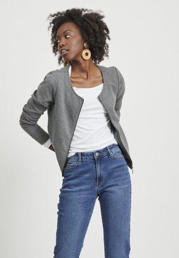 VINAJA NEW SHORT JACKET - Summer jacket - medium grey melange