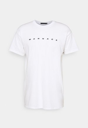 BREEZE PALM TREE REGULAR - T-shirt print - off white