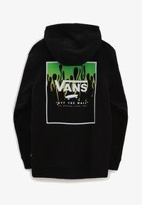 Vans - BY PRINT BOX BACK PO BOYS - Hoodie - black slime - 2