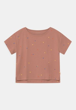 ICE CREAM DOTSCROP  - Print T-shirt - pink