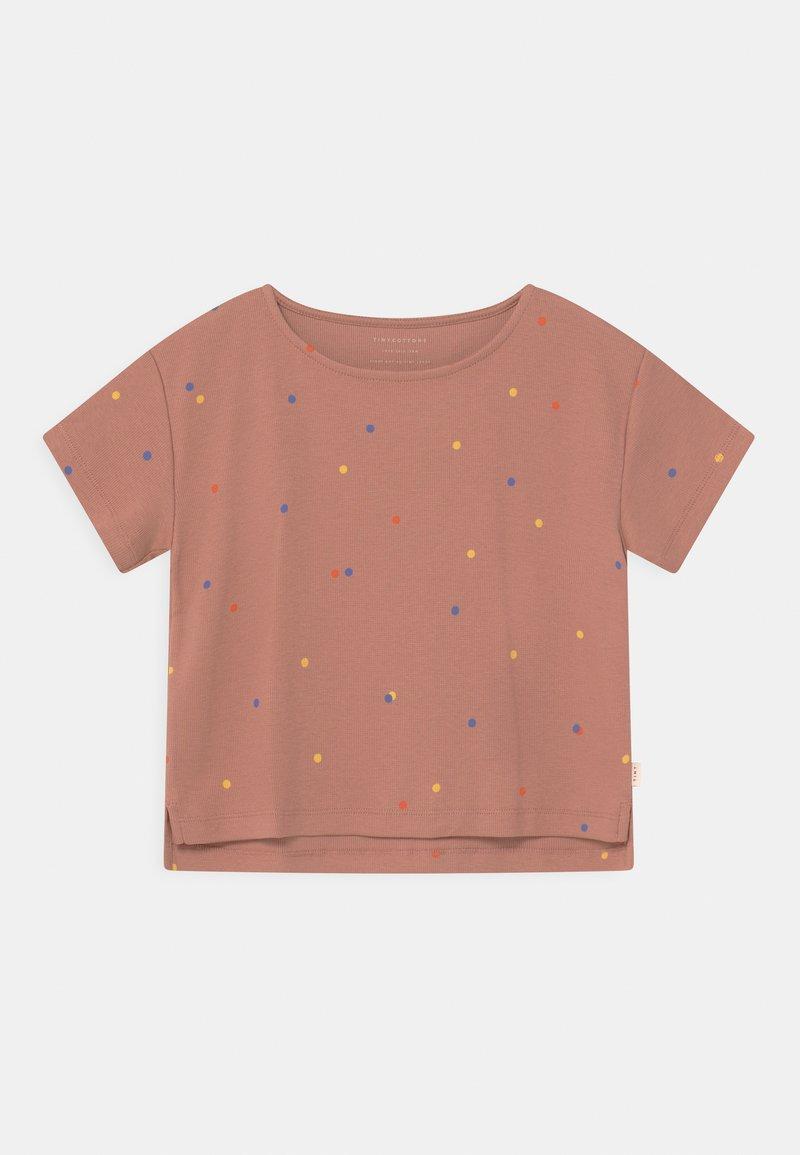 TINYCOTTONS - ICE CREAM DOTSCROP  - Print T-shirt - pink