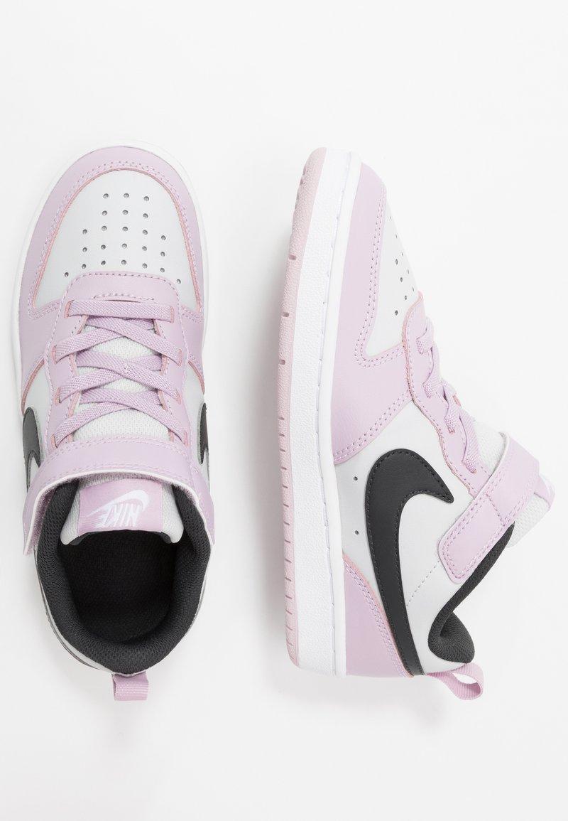 Nike Sportswear - COURT BOROUGH - Sneakers laag - photon dust/off noir/iced lilac/white