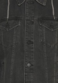 Only & Sons - ONSCOIN HOOD TRUCKER - Denim jacket - black denim - 6