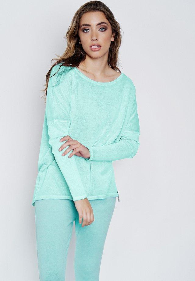 BENTE - Long sleeved top - neon mint