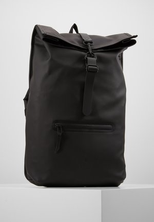 ROLL TOP - Mochila - black