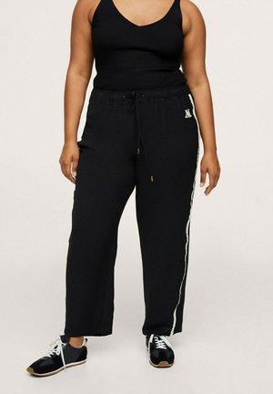 EMMA - Teplákové kalhoty - noir