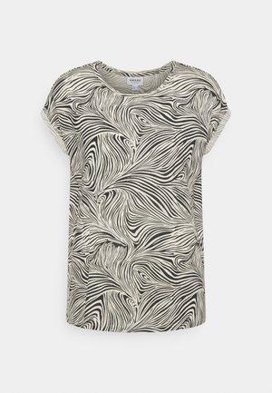 VMAVA PLAIN - T-shirt z nadrukiem - birch/gea black