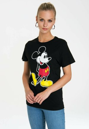 DINSEY MICKEY MOUSE - Print T-shirt - schwarz