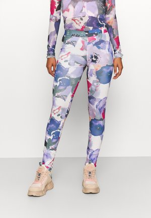 MISTA - Leggings - Trousers - carmine rose