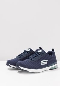 Skechers Sport - SKECH AIR - Trainers - navy/white - 4