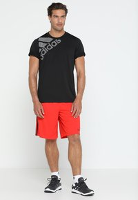 adidas Performance - Print T-shirt - black - 1