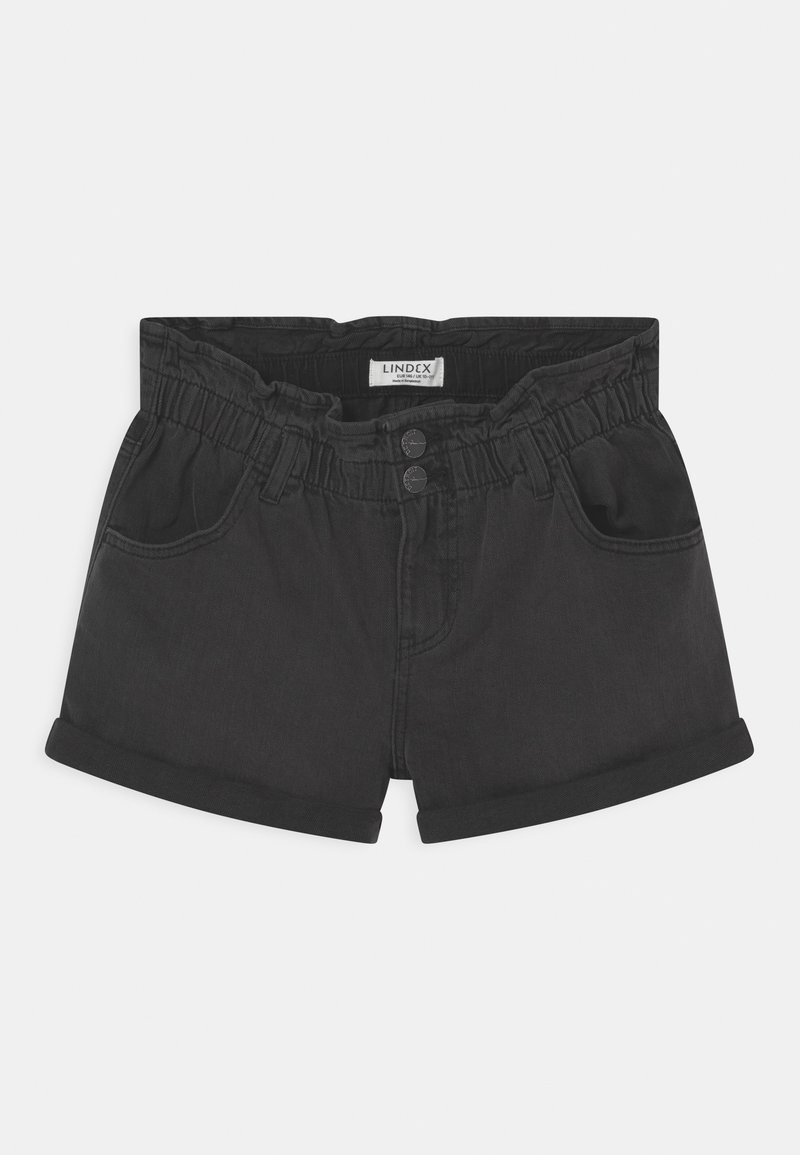Lindex - JONNA - Denim shorts - black