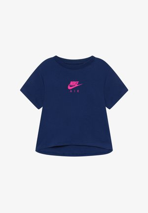 TEE CROP AIR - T-shirt imprimé - blue void