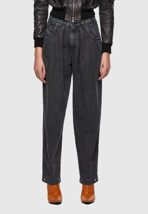 Relaxed fit jeans - black/dark grey